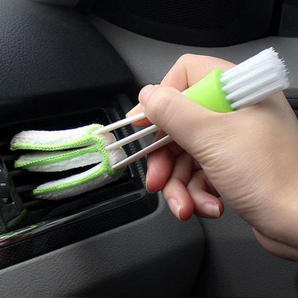 자동차 실내 에어컨 틈새 송풍구 블라인드 청소용품