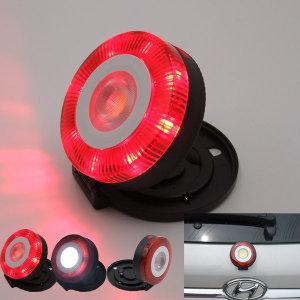 LED  자석 안전비상등 원형/응급주정차/비상등/삼각경