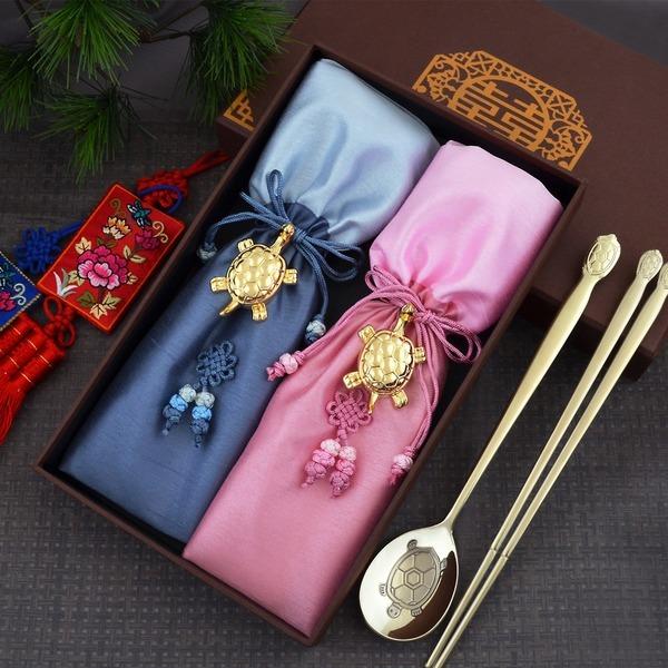 금은티타늄수저세트 외국인선물고급답례품단체기념품