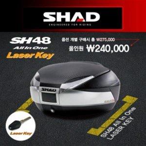 SHAD  샤드 SH48 올인원 레이저키 탑박스 D0B48406R