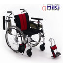 미키코리아  알루미늄 휠체어/ MIKI-W AH(팔받침대)
