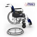 미키코리아 알루미늄휠체어/MIKI-W QR(바퀴탁찰기능)