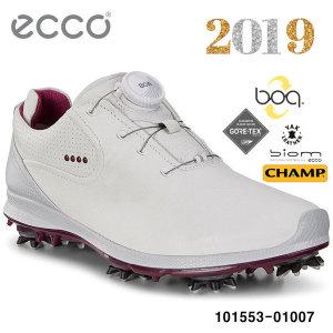 에코/정품 19 바이옴 G2 지투 2.0 보아 여성 골프화 101553-01007/화이트