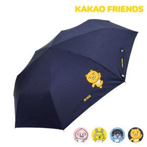 카카오프렌즈 3단 완전자동우산  점핑-GUKTU70011