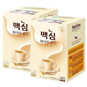 맥심 화이트골드 커피믹스 320T /빅스마일데이특가판매