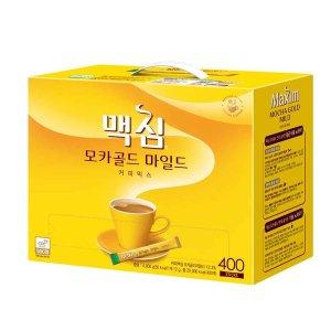 맥심모카골드 마일드 커피믹스 400T + 사은품랜덤