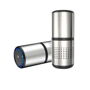 차량용 공기청정기 화이트홀C10 미세먼지/상태표시 LED