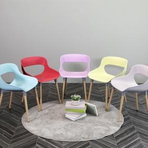 1+1 카페의자/디자인의자/인테리어의자/컬러의자