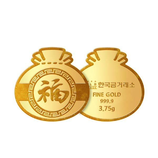 (현대Hmall)한국금거래소 순금 복주머니 3.75g