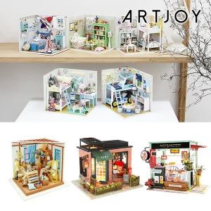 (빅스마일데이) 아트조이 DIY 미니어처 하우스 만들기