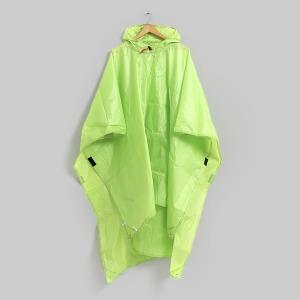 휴대용 매트겸 판초우비/휴대용비옷 우의 캠핑 등산