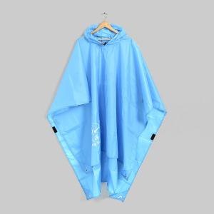 휴대용 매트겸 판초우비/등산 캠핑 휴대용비옷 우의
