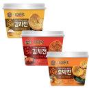 백설 쿠킷 감자전1 + 호박전1  +김치전1