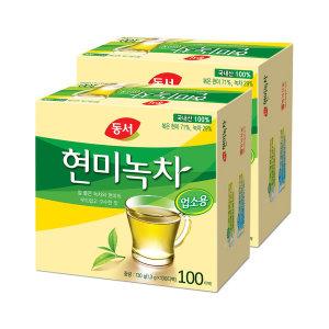 동서 현미녹차 100T 2개(업소용)
