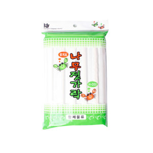 SM 나무젓가락 슈퍼용 40P / 일회용 숟가락 개별포장