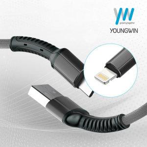 YW-S63 아이폰 라이트닝 데이타 고속충전 케이블