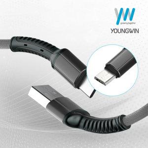 YW-S63 5핀 데이타 고속충전 케이블