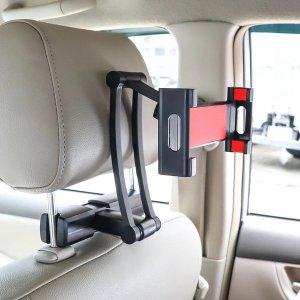 핸드폰 테블릿 헤드레스트 뒷좌석 거치대 레드