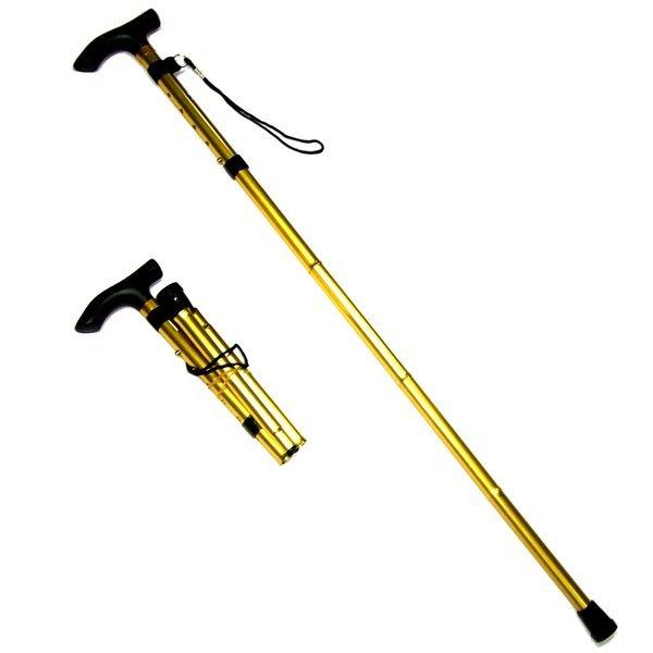 4단 접이식 초경량 효도 지팡이-노인 실버 용품