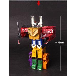 파워레인저 애니멀포스 변신 합체 로봇와일드애니멀킹