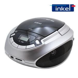 인켈 ICP419 포터블 CD플레이어 MP3 USB SD 라디오