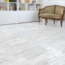 무늬목 바닥/장판시트지 플로어 패널 화이트 RSF-018