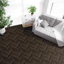 무늬목 패널 바닥/장판시트지 다크우드헤링본 RSF-020
