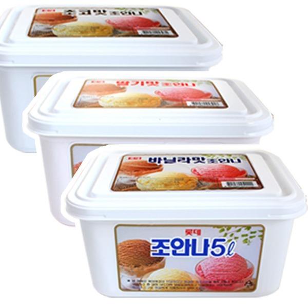 (롯데제과)바닐라아이스크림5리터