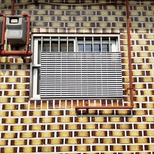 창문가리개 통풍 조립식 창문가리개 사생활보호