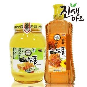 금산 아카시아 꿀 야생화 벌꿀 1kg/2kg/2.4kg사양벌꿀