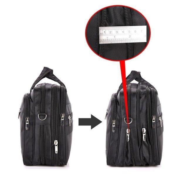 남성 지퍼확장 노트북가방 캐리어결합백 컴퓨터가방