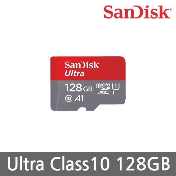 핸드폰 메모리 /Sandisk Micro SD Ultra Cass10 128G