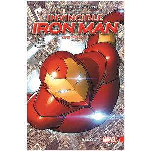 인빈시블 아이언 맨 Vol. 1 리부트 시공그래픽노블 시리즈