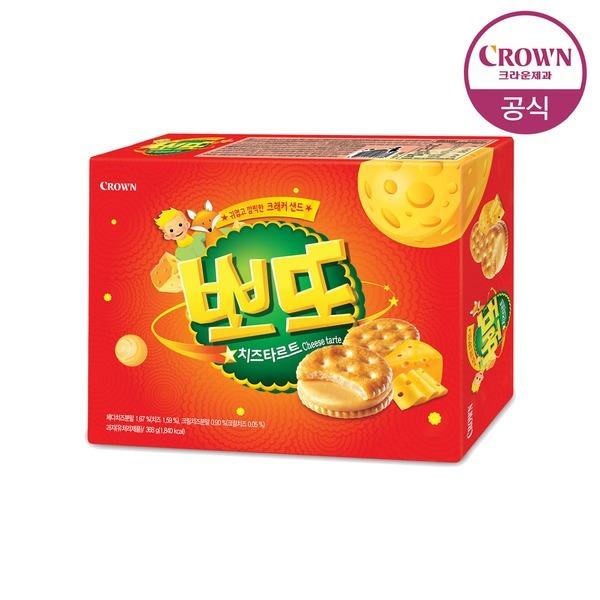 뽀또 치즈타르트 368g 大 (16봉입)