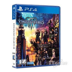 PS4 킹덤하츠3 한글판 / 디즈니캐릭터 총출동