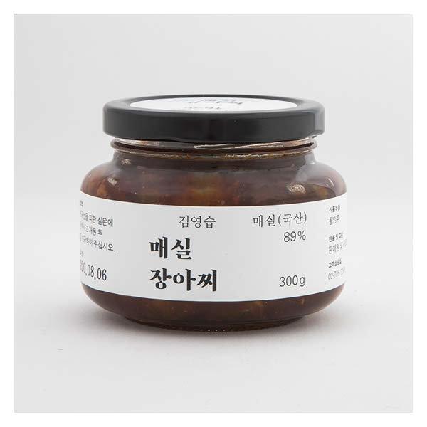 (현대백화점)명인명촌 김영습 매실 장아찌 300g