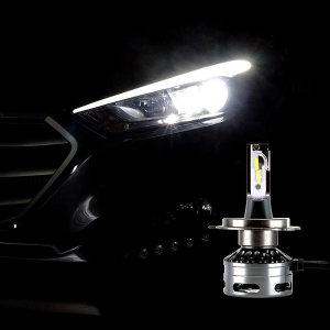 12V-24V 엠프로빔블랙에디션V2 LED전조등 H4타입