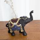 고급 중형 코끼리 보석 장식품 풍수인테리어 소품