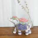 돈들어오는 대형 보석코끼리 장식품 풍수인테리어 소품