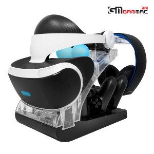 PS4 VR 하이브리드 스탠드 멀티 충전 스탠드