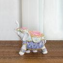 돈들어오는 중형 보석코끼리 장식품 풍수인테리어 소품