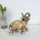 복 들어오는 황금 코끼리 장식품 풍수인테리어 소품