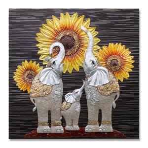 인테리어액자 해바라기코끼리(대)/그림 소품 개업선물