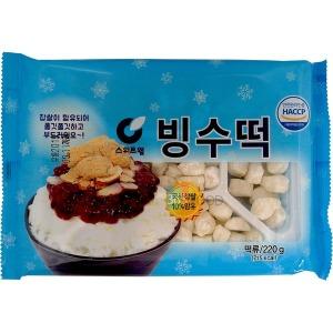 부국에프앤씨 팥빙수 빙수떡 220g
