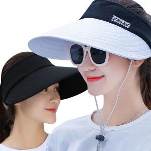 스타일 여행용 썬캡/창모자 여름 운동 썬캡 야외 모자