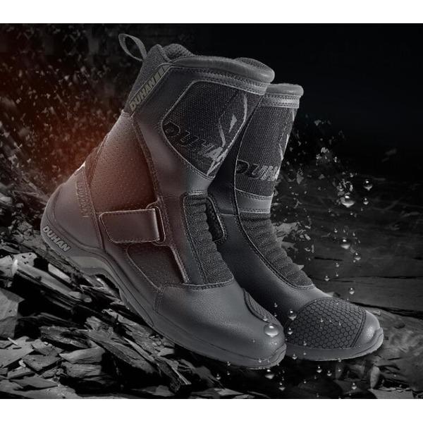 DUHAN4계절 바이크 부츠 오토바이 신발 보호구DS-703