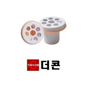 더콘24mm소변기용 / 하수구냄새차단트랩 화장실 욕실