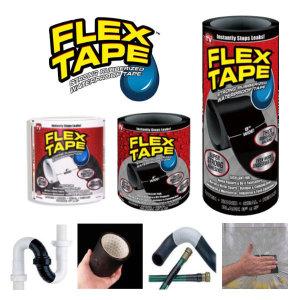 FLEX TAPE 방수테이프 파이프 누수밴드 보수 플렉스