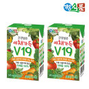 정식품 베지밀 건강담은 야채가득 v19 145mlx 24팩