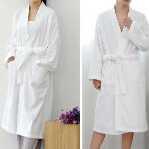 사워 호텔 목욕 커플 가운 수면가운 잠옷 파자마